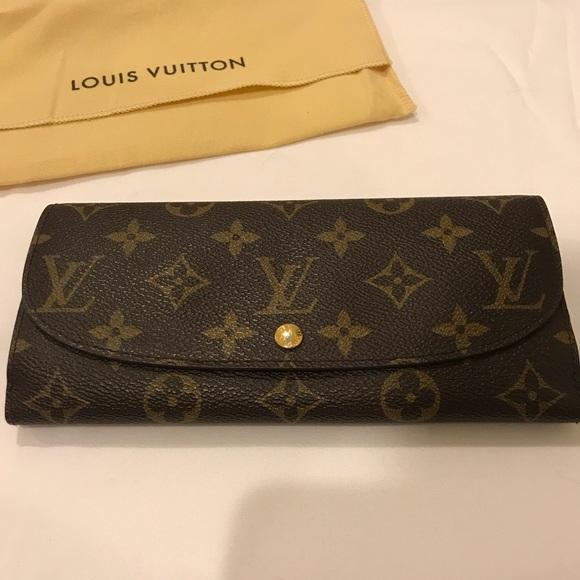 3003d63e8694 Louis Vuitton Handbags - Monogram Double-sided Louis Vuitton Long Wallet